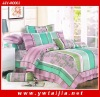 striped 4PCS 100%cotton queen size bedding sets