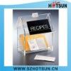 clear acrylic namecard holder box