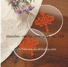 Acrylic / perspex / plexiglass/ lucite round cup mats/coasters