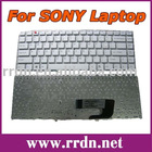 For VGN-NW200 NW White US Laptop Keyboard 9J.N0U82.B01