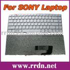 For VGN-NW200 NW White US Laptop Keyboard 9J.N0U82.B01