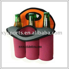 neoprene 6beer bottle cooler