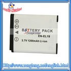 3.7V 1200mAh Digital Video Camera Battery for Nikon EN-EL19 ENEL19 Battery
