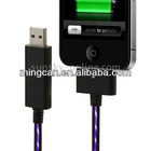 USB Purple Visible Light Charge Cable for iPhone