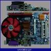 G41 motherboard+3.6G CPU+Fan
