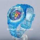 2011 fashion 3D vogue silicon watch