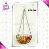 Metal hanging fruit basket