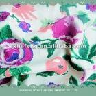 100% printed rayon challis fabric,30x30/68x68 rayon fabric