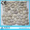 Superfine Grade Decorative White Pebbles Mosaic Tile