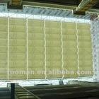 Electric folding roof sunshade