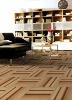 Floor tile tufted carpet