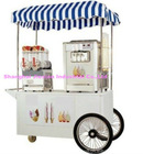 JX-IC160 Cool Summer Mobile Soft Gelato Cart