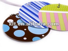Paper round favor tag