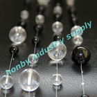 Freely distribution black&clear colors hanging crystal bead chains