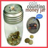 Coin counting money jar