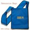 Wide Strap Messenger Non Woven Bag