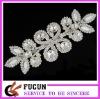 clear crystal wedding dress appliques