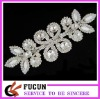 clear crystal wedding dress appliques
