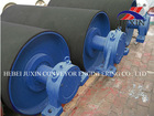 rubber lagging belt conveyor tail drum pulley