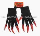 Gloves with Gliter Nails