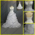 WR-024 Embroidery Sweetheart Bridal Wedding Dress