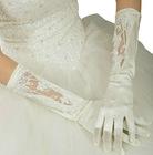 2012 new fashion White lace bridal wedding gloves fingerless lace gloves