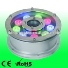 9w rgb led underwater light for swimming pool ip68