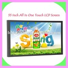 55 inch Indoor LCD Touch Advertising Panel
