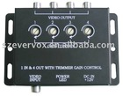4 channels 12v car monitor video amplifier