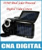 12MP 3.0 inch Solar Powered Digital Video Camera with 8X Digital Zoom DV T90