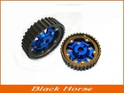 blue wheel gear for proprietary racing