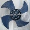 fan for heat pump cooling 556x167x15, heatpump fan impeller,outdoor fan blade