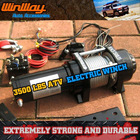 3500LBS ATV ELECTRIC WINCH