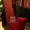 Q324-80Chinese Style Antique Wooden Dining Chair