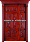 elegant original natural wood door with competitive price