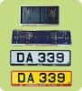 Custom License Plate holder (LY-E01)