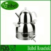 1.2L finishing stainless steel finishing teapot with handle
