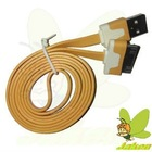 New Flat USB Orange 1M Noodle Data And Charger Cable for Iphone 4G/4GS/Ipad 2/New Ipad