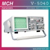 V-5040 oscilloscope, 40MHz analog frequency,dual channel/traces,
