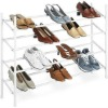 4 Tier Extendable Shoe Rack