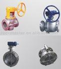 Zirconium ball valve