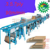 WJ-150 5-ply corrugated cardboard production line in china