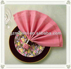100% spun polyester Napkin/table napkin for restaurant and hotel