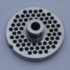 No.12 stainless steel meat grinder plates 4.5mm hole with hub