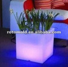 LED PE Flower Pot Table In Rotational Moulding Technique