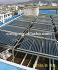 2012 New designment doule wings vacuum solar heating project or manifold heat collector module