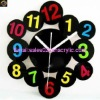 modern acrylic wall clock manufacturer