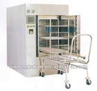 Pulse Vacuum Pressure Steam Sterilizer (300L ~1800Lavailable, 136 degree celsius,Handle singal/double door)