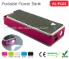 AL-PC08 USB portable power charger for mobile/iphone/ipad