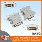DVI to VGA Adapter DVI-D DVI Male To VGA Female SVGA 15pin Video Monitor Adapter Converter 24+5pin